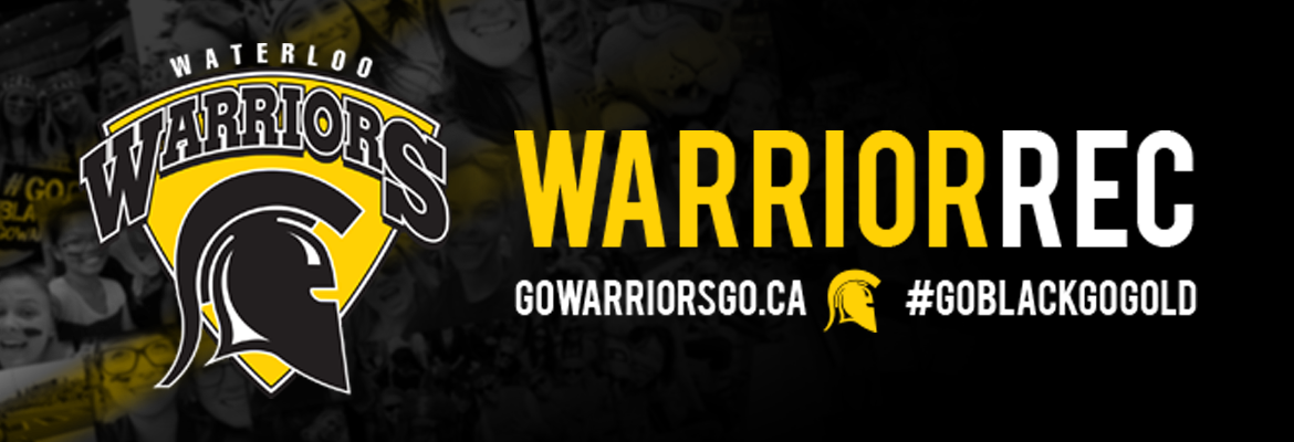 Waterloo Warriors Recreation | Group Fitness Schedule